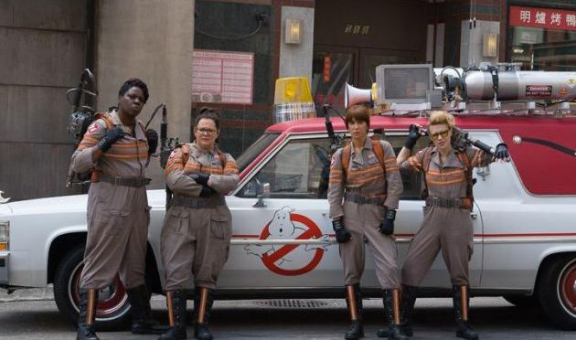 Paul Feig Shares 'Ghostbusters' First Official Cast Photo