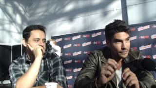 NYCC 2015 Interview: Stars D.J. Cotrona and Jesse Garcia Talk 'From Dusk Till Dawn: The Series'