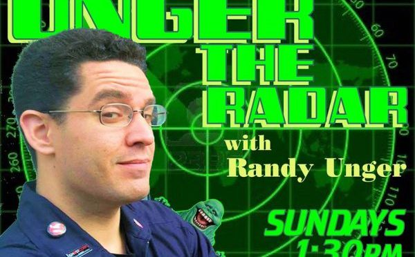 Watch UNGER THE RADAR on Village Connection Radio